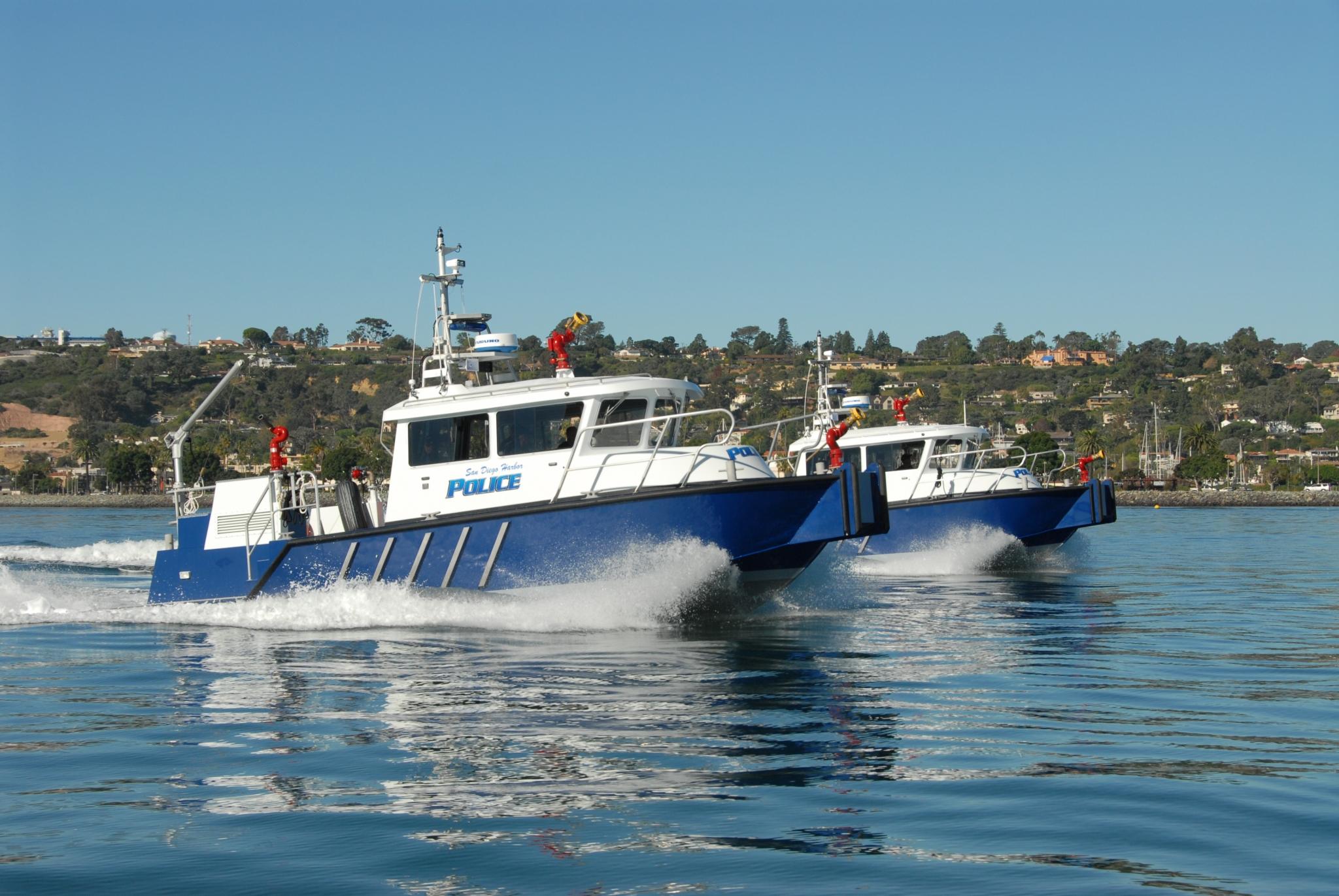 Harbor Police Boats