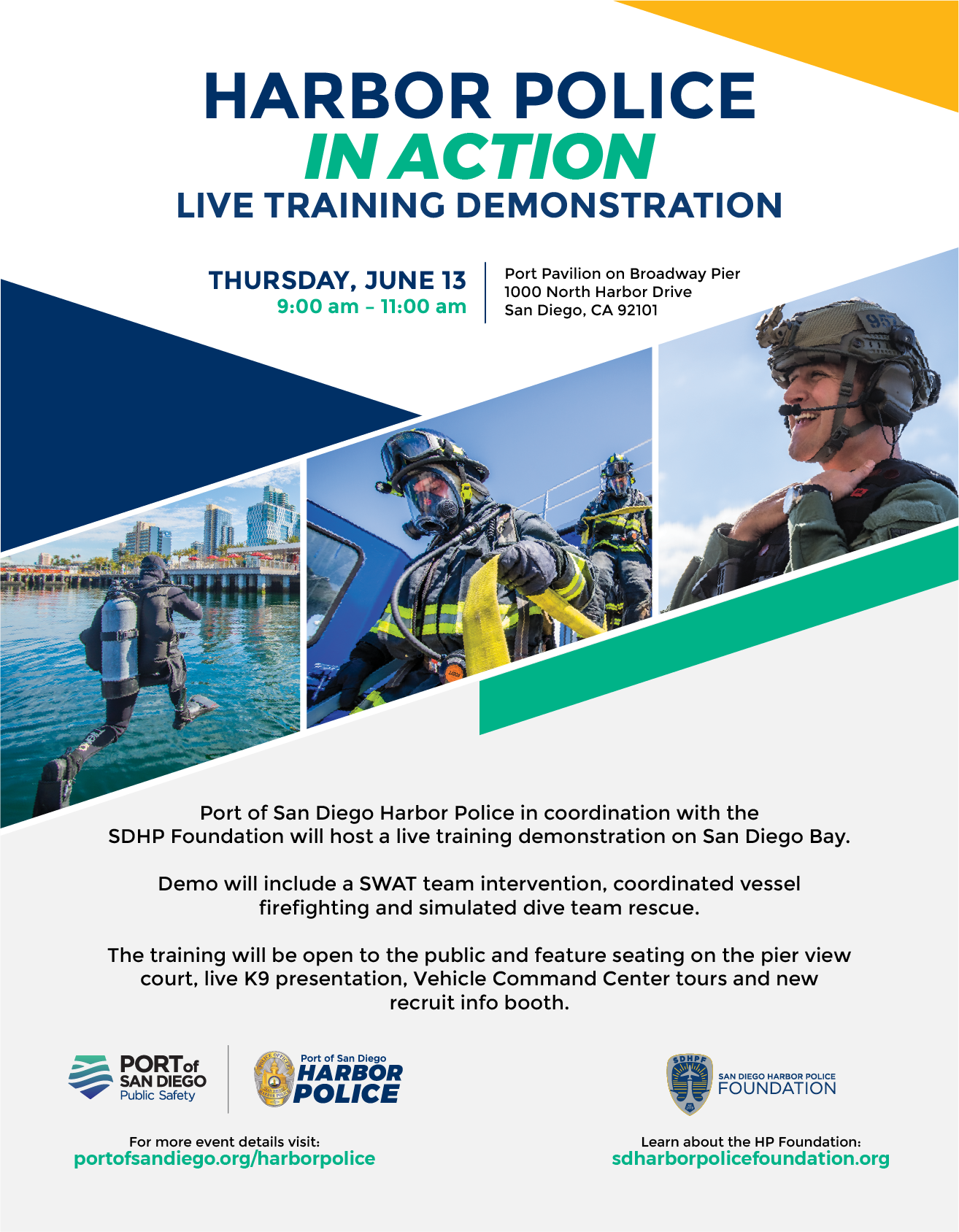 See the Harbor Police in Action | Port of San Diego