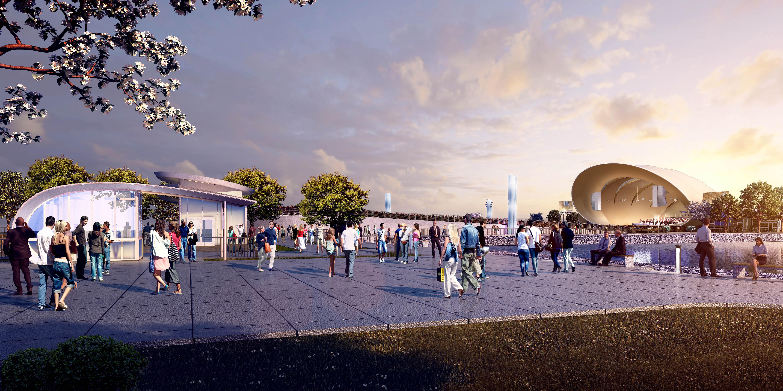 San Diego Summer Pops 2020.San Diego Symphony Bayside Performance Park Enhancement