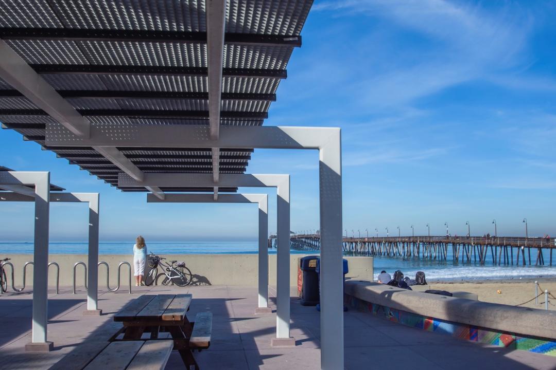 Portwood Pier Plaza Park Port of San Diego