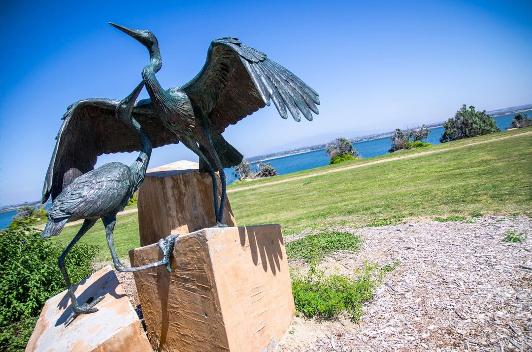 Sheltering Wings at Grand Caribe Shoreline Park Port of San Diego