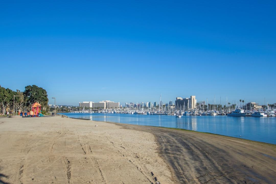 Spanish Landing Park Beach Port of San Diego