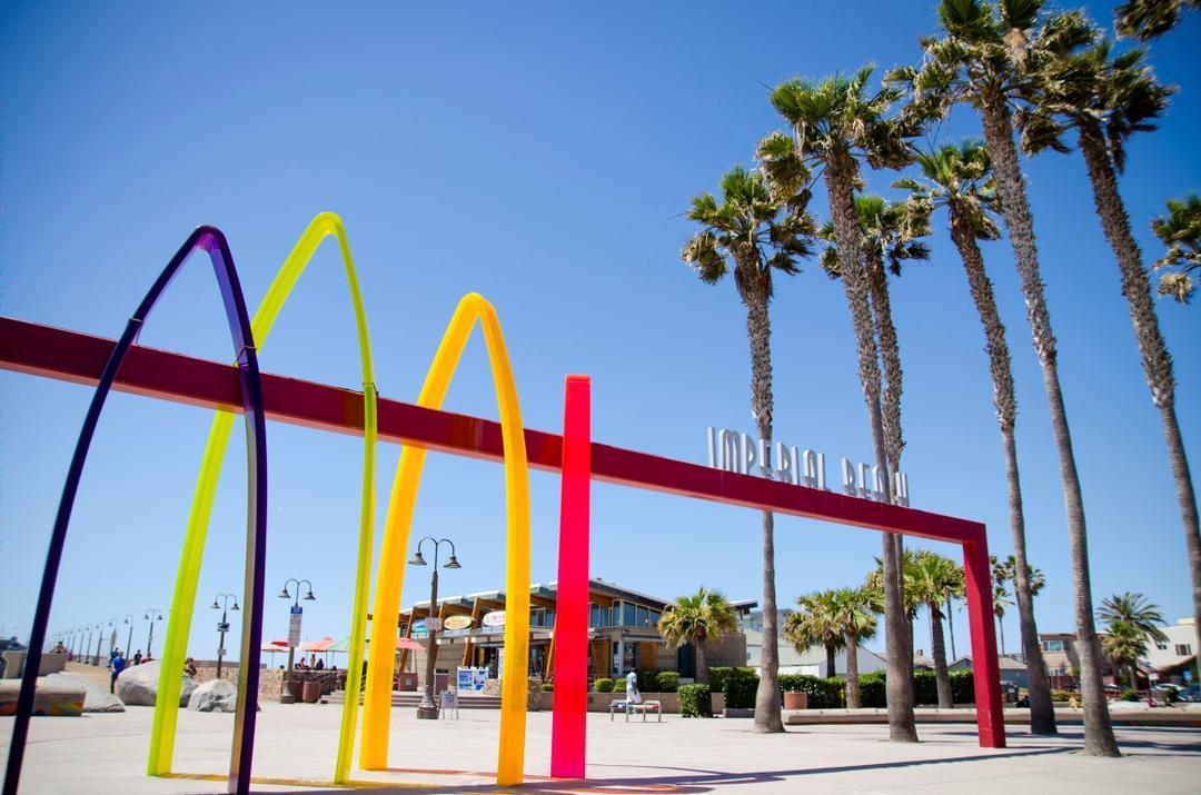 Surfhenge - Artwork Imperial Beach Port of San Diego
