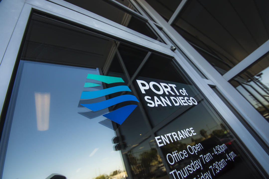 Door to Procurement Services at the Port of San Diego