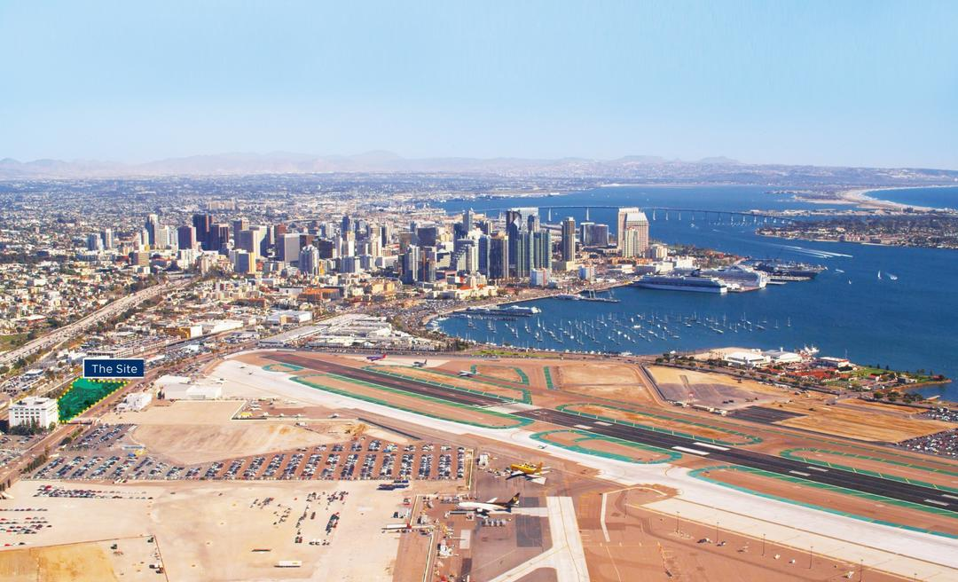 San Diego Bay RFP Project area outlined
