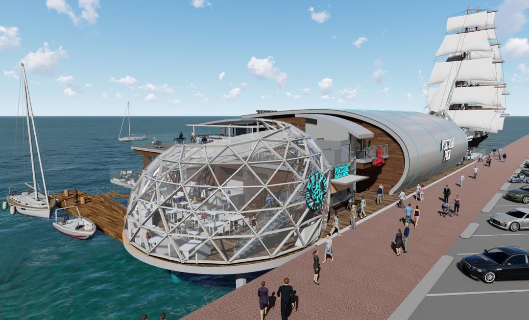 Portside Pier by The Brigantine, Inc.