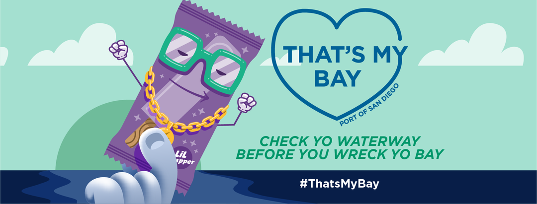 We've just learned that Lil Wrapper has been lost in the San Diego Bay Watershed Management Area.