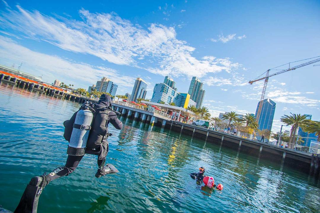 Harbor Police in Action: Live Training Demonstration