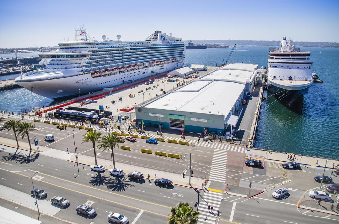 B Street Cruise Terminal San Diego