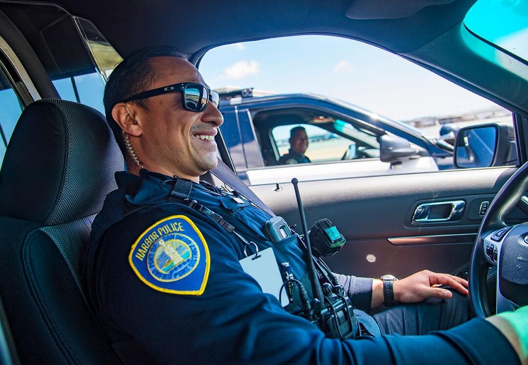 Port of San Diego Harbor Police vehicle patrol