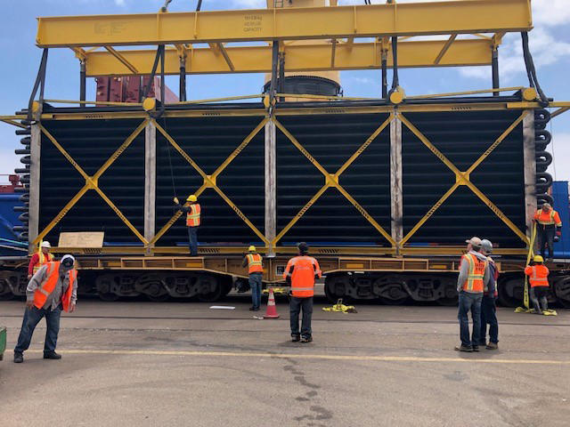 project cargo at the Tenth Avenue Marine Terminal