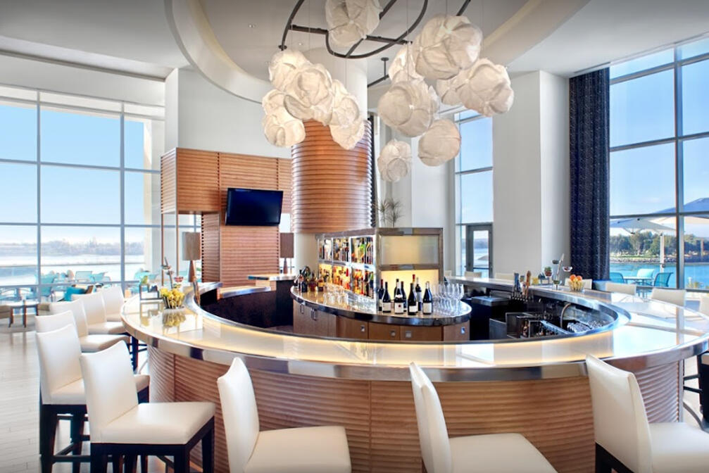 The Odysea bar - Hilton Bayfront