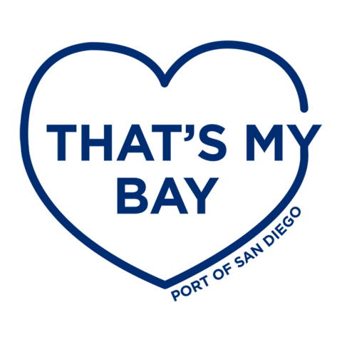 That's My Bay PNG Logo blue