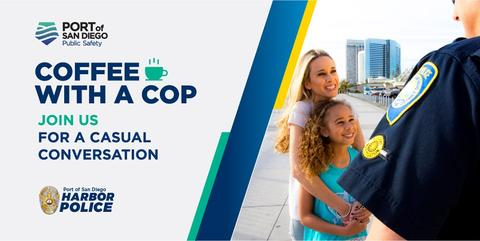 Port of San Diego Harbor Police Department Coffee with a Cop