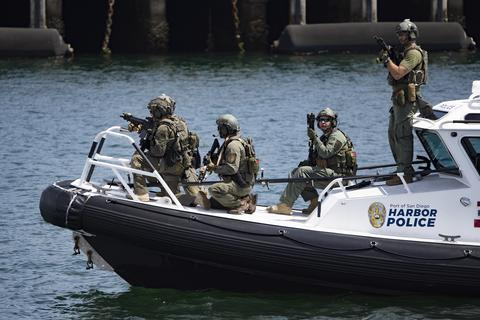 Harbor Police in Action: Live Training Demonstration 6/13/19