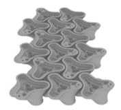 ECOncrete interlocking Coastal Star concrete tide pool