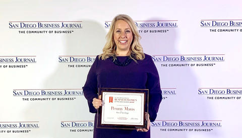 San Diego Business Journal Names Port of San Diego's Penny Maus a 2019 Business Woman of the Year