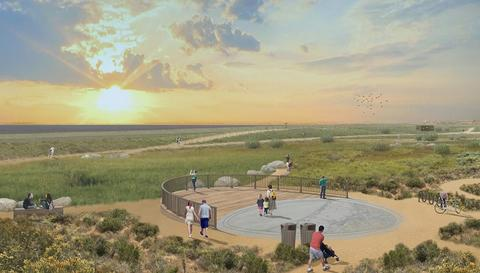 Conceptual rendering of future Sweetwater Park planned for the Chula Vista bayfront.