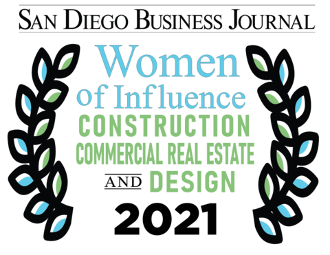 A logo of the San Diego Business Journal's Recognition Program.
