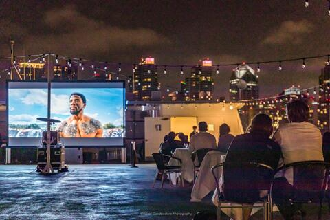 Hornblower Movie on a Boat