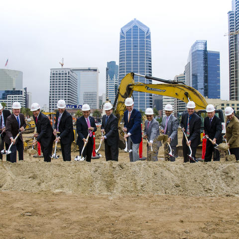 BRIC Phase 2 Lane Field Intercontinental Groundbreaking on June 2, 2016