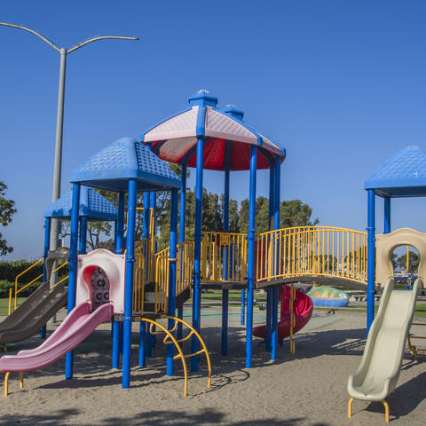 Playground at Pepper Park on National City bayfront