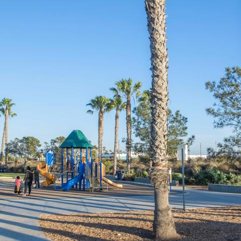 Playground at Chula Vista Marina View Park at the Port of San Diego
