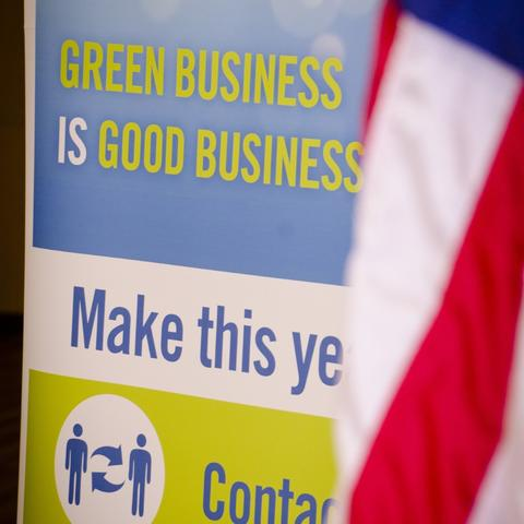 Green Business Network Sign