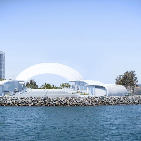 San Diego Symphony Bayside Performance Park - from west