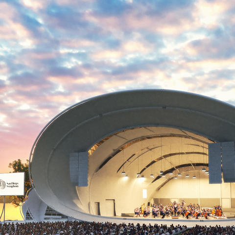 San Diego Symphony rendering - Main Stage