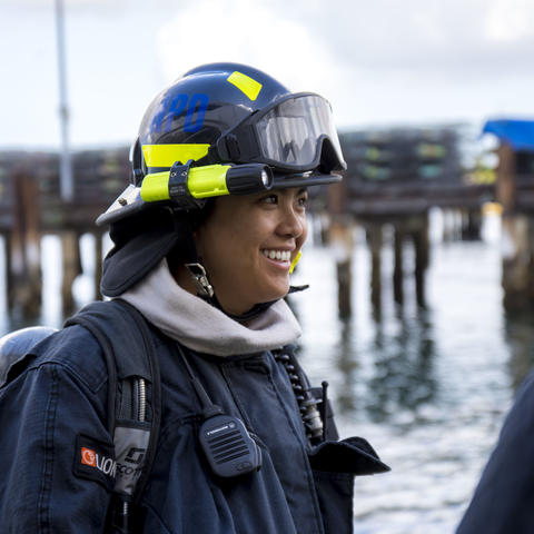 Port of San Diego Harbor Police Officer Firefighter