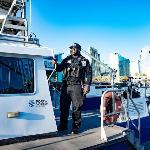 Port of San Diego Harbor Police Vessel Patrol