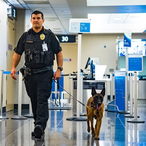 Port of San Diego Harbor Police K9 and handler