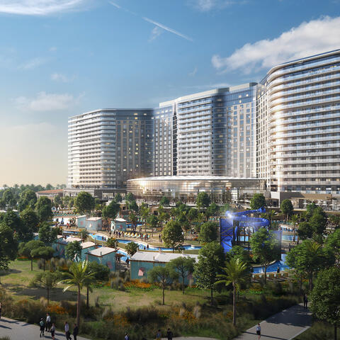 Chula Vista Bayfront Gaylord Pacific Conceptual Rendering Hotel