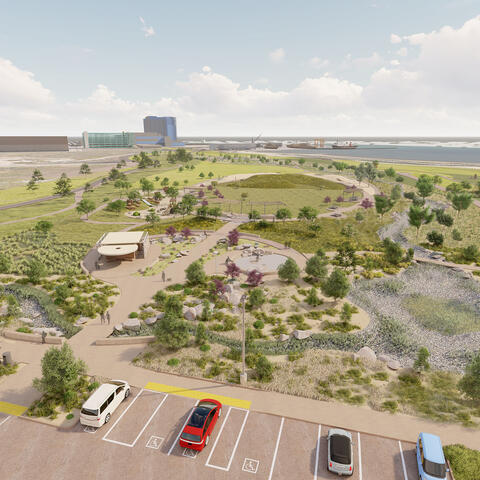 Chula Vista Bayfront Sweetwater Park Conceptual Rendering